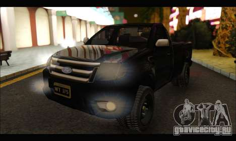 Ford Ranger Cabina Simple 2013 для GTA San Andreas