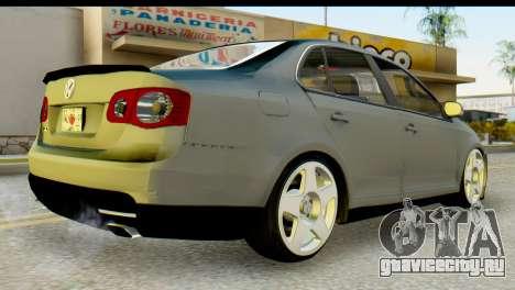 Volkswagen Bora GLI 2010 Tuned для GTA San Andreas вид слева