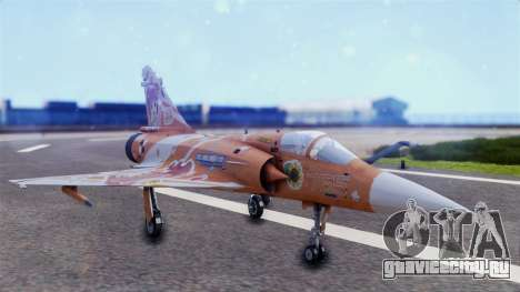 Dassault Mirage 2000-5 The Idol Master 2 для GTA San Andreas