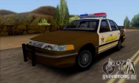 Ford Crown Victoria 1994 Sheriff для GTA San Andreas