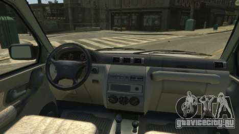 UAZ Patriot Pickup v.2.0 для GTA 4 вид сзади