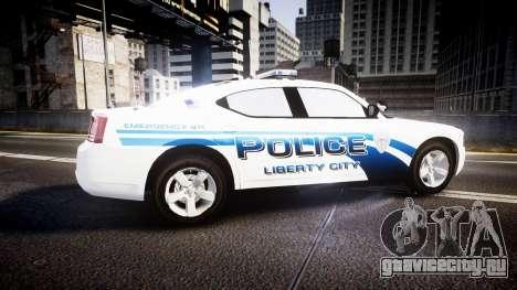 Dodge Charger 2006 LCPD [ELS] для GTA 4 вид слева