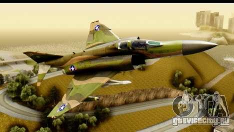 F-4 Vietnam War Camo для GTA San Andreas вид слева