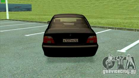 BMW 730i для GTA San Andreas вид справа
