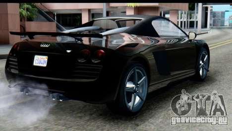GTA 5 Obey 9F Cabrio SA Mobile для GTA San Andreas вид слева