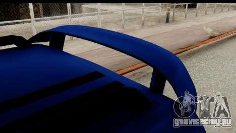 Ford Transit Tourneo Connect Camli Van для GTA San Andreas вид справа