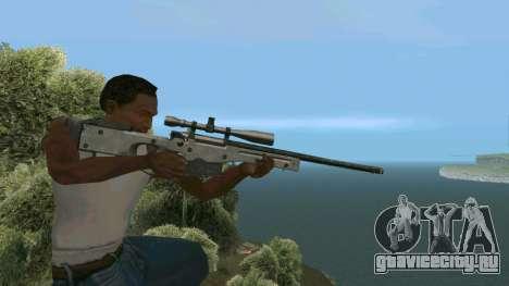 Metal AWP L96А1 для GTA San Andreas четвёртый скриншот