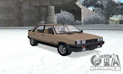 Renault 11 Turbo Phase I 1984 для GTA San Andreas