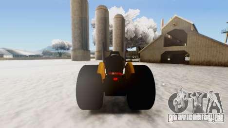 Tractor Kor4 v2 для GTA San Andreas вид справа