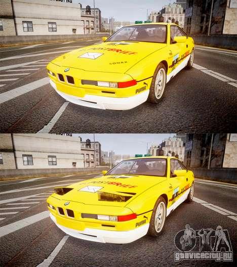 BMW E31 850CSi 1995 [EPM] E-Post Brief для GTA 4 вид сбоку