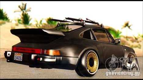 Porsche 911 1980 Winter Release для GTA San Andreas вид сзади слева