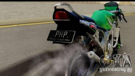 Kawasaki Ninja R Drag для GTA San Andreas вид справа