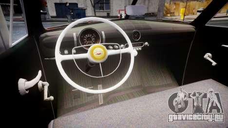 Ford Custom Tudor 1949 для GTA 4 вид изнутри
