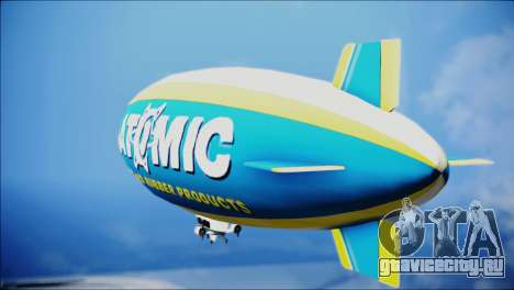 Blimp Atomic для GTA San Andreas