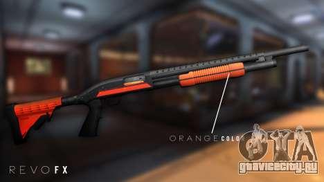 Orange Shotgun для GTA San Andreas второй скриншот