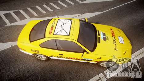 BMW E31 850CSi 1995 [EPM] E-Post Brief для GTA 4 вид справа