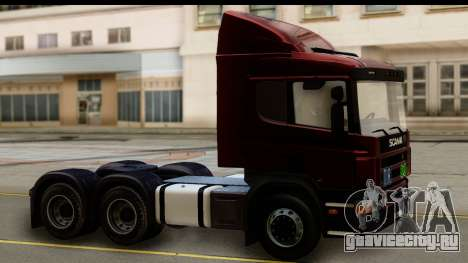 Scania P340 для GTA San Andreas вид справа