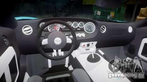 Ford GT 2005 [EPM] Gulf для GTA 4 вид сбоку