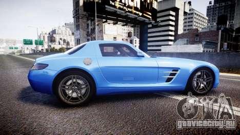 Mersedes-Benz SLS AMG 2010 для GTA 4 вид слева