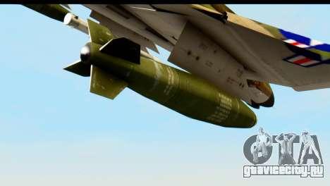 F-4 Vietnam War Camo для GTA San Andreas вид справа