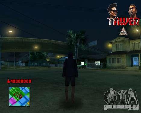 C-HUD Tawer By Flocky для GTA San Andreas третий скриншот