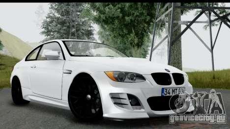 BMW M3 E92 Hamann Edition для GTA San Andreas