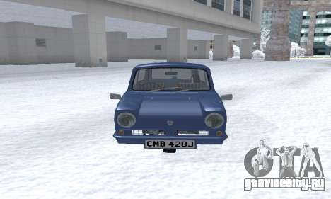 Reliant Supervan III для GTA San Andreas вид слева