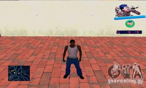 C-HUD Wiz Khalifa для GTA San Andreas
