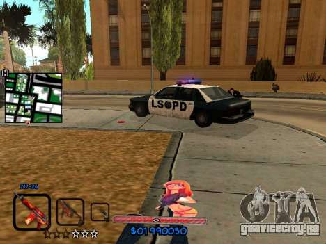 C-HUD by HudMud для GTA San Andreas пятый скриншот