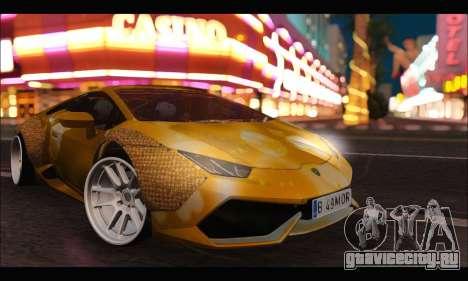 Lamborghini Huracan LB Solar для GTA San Andreas