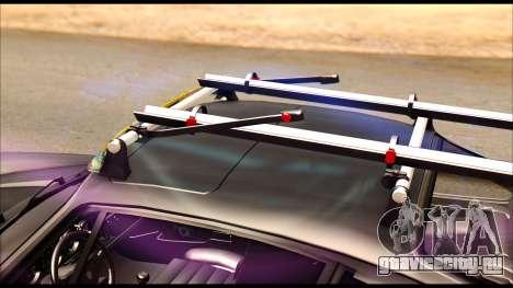Porsche 911 1980 Winter Release для GTA San Andreas вид сзади