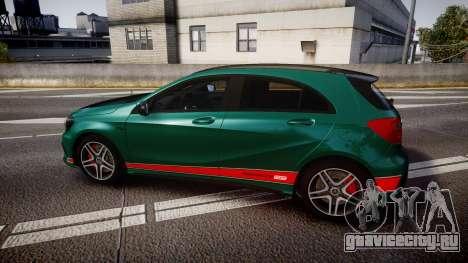 Mersedes-Benz A45 AMG PJs4 для GTA 4 вид слева