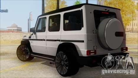 Mersedes-Benz G500 Brabus для GTA San Andreas вид слева