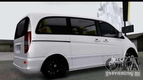 Mercedes-Benz Viano 2010 для GTA San Andreas вид слева