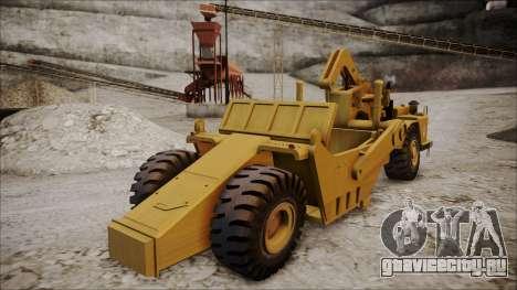 Caterpillar 631D для GTA San Andreas вид слева