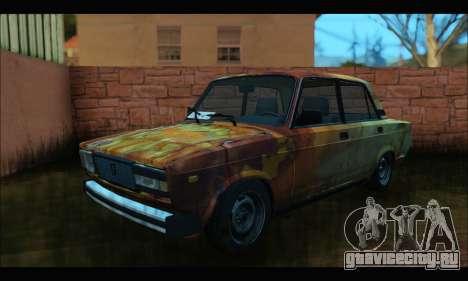 ВАЗ 2107 Rusty для GTA San Andreas