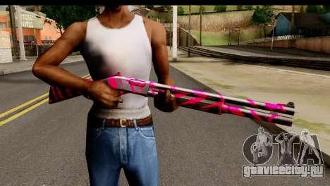 Red Tiger Shotgun для GTA San Andreas третий скриншот