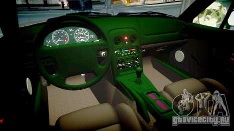 Mazda MX-5 Miata NA 1994 [EPM] для GTA 4 вид изнутри