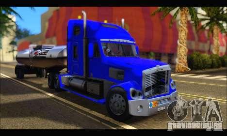 Freightliner Coronado v.2 для GTA San Andreas вид сзади