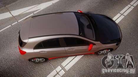 Mersedes-Benz A45 AMG PJs4 для GTA 4 вид справа