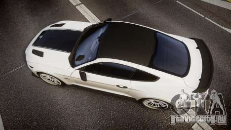 Ford Mustang GT 2015 SPEEDCREED для GTA 4 вид справа