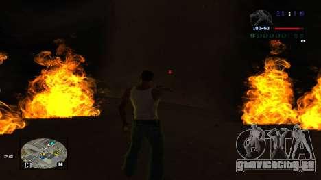 C-HUD Politra для GTA San Andreas четвёртый скриншот