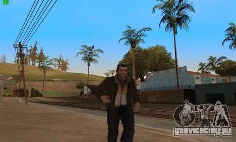 Анимации из GTA 4 для GTA San Andreas второй скриншот