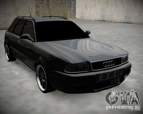 Audi 80 B4 Avant БПАН.РФ для GTA San Andreas вид сзади слева