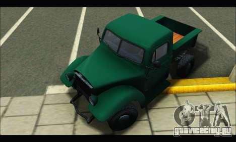 Rat Loader (GTA V) для GTA San Andreas вид сзади