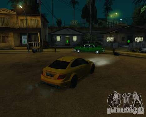 ENB by Robert v8.3 для GTA San Andreas девятый скриншот