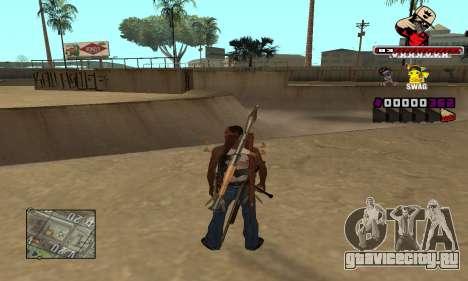C-HUD SWAG для GTA San Andreas второй скриншот