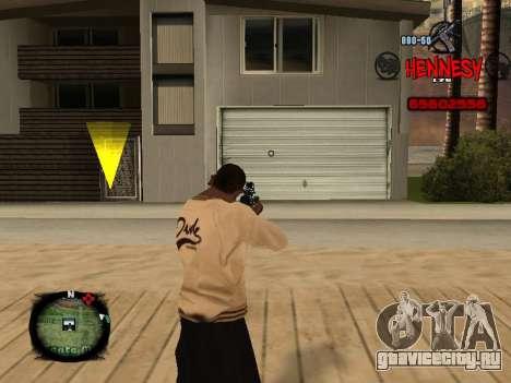 C-HUD Hennesy для GTA San Andreas второй скриншот