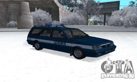 Daewoo-FSO Polonez Kombi 1.6 GSI Police 2000 для GTA San Andreas