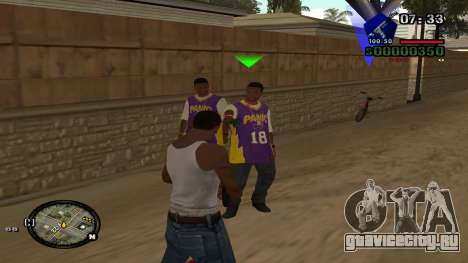 C-HUD by Kidd для GTA San Andreas второй скриншот